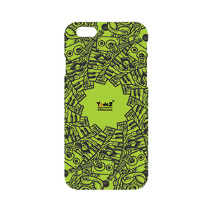 Iphone 7 Green Musical Notes