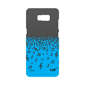 Samsung S8 Blue Musical Notes