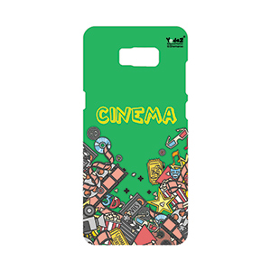 Samsung S8 Green Cinema